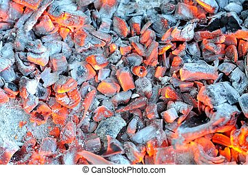 Glowing Hot Embers