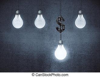 Profit increase ideas concept