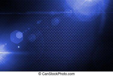 Laser Blue Mesh Background