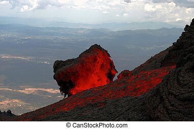 Glowing Lava