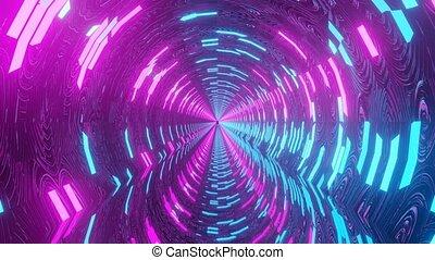 glowing neon pattern cgi vfx animation dj loop in 4k uhd 60fps