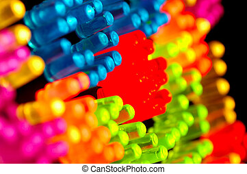 Glowing Pegs - GLowing Colored Pegs