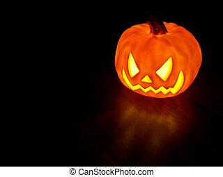 Glowing Pumpkin 1