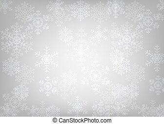 glowing snowflakes