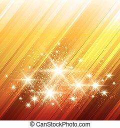Glowing Stars Background