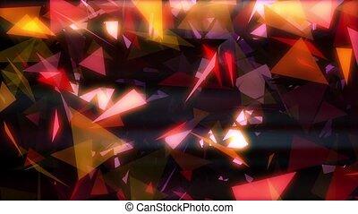 Glowing Triangles Vj Loop