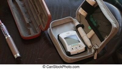 glucose, essai, sanguine, kit