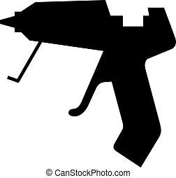 Glue gun, shade picture