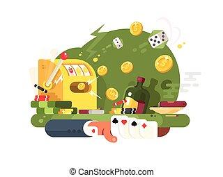 gluecksspiel, kasino, spiele