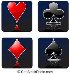 gluecksspiel, mit, kasino, elemente