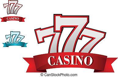 gluecksspiel, symbol, kasino