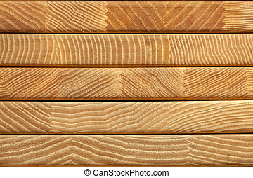 Glued wood texture background. Stack of boards. Close-up...