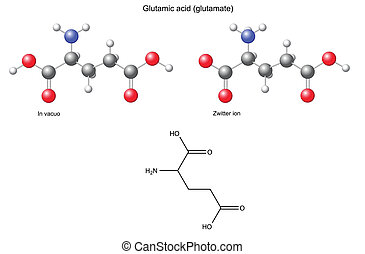 Glutamic acid Glu - Glutamic acid (Glu) - chemical...
