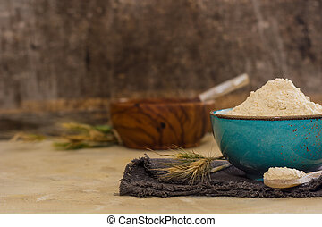 gluten flour with high protein content, ingredient for making vegan meat