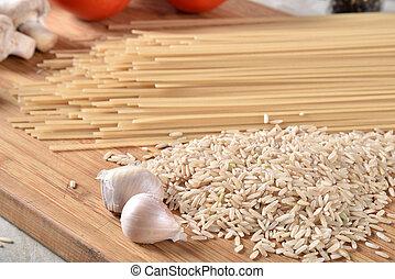 Gluten free brown rice pasta