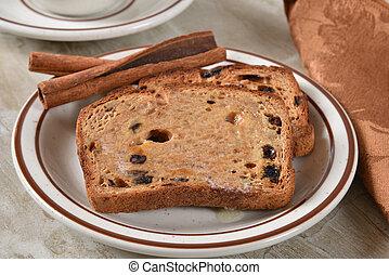 Gluten free cinnamon toast