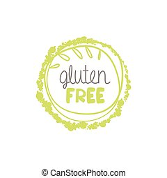 Gluten Free Food Label