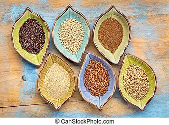 gluten free grains collection
