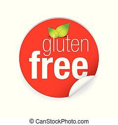 Gluten free label tag