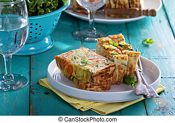 Gluten free vegetable loaf with zucchini - Gluten free ...