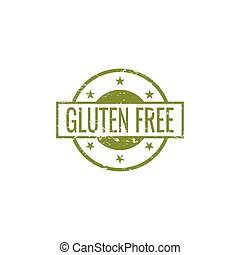 gluten, frei, etikett