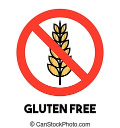 gluten, frei, zeichen
