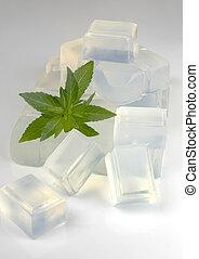 glycérine, base, savon