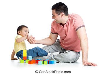 gmach, gra, jego, kloce, ojciec, koźlę