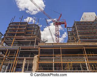 gmach, nowy, umieszczenie zbudowania