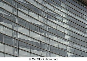 gmach, okna, biuro