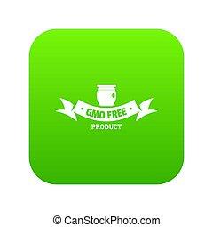 gmo , ελεύθερος , επιγραφή , εικόνα , πράσινο