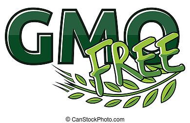 Gmo free label
