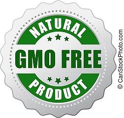 gmo, produto, natural, livre
