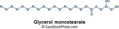 gms, monostearate, glycerol, o