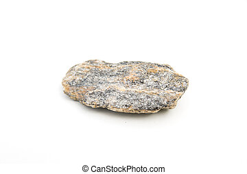 gneiss isolated over white