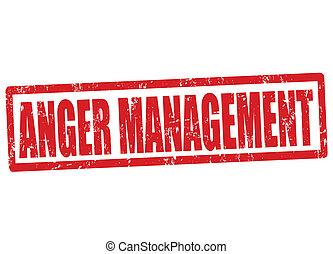 gniew, tłoczyć, kierownictwo