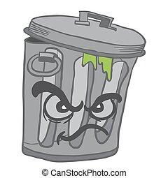 gniewny, Może, Odpadki