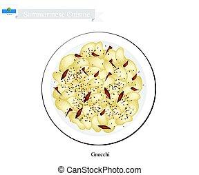 Gnocchi, A Famous Dish in San Marino