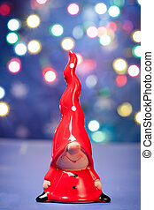 Gnome figure with big red cap