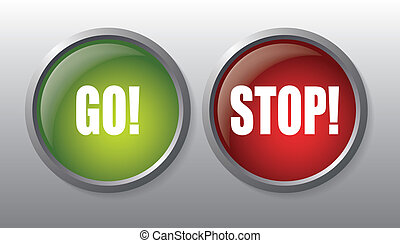 Go and Stop buttons