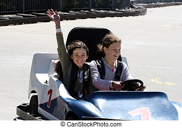 GO CART - Girls on go cart