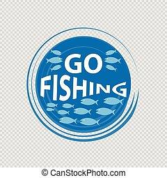 Go fishing logo