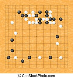 Go game - Position of the Go game