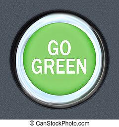 Go Green - Car Push Button Starter Envrionmentalism