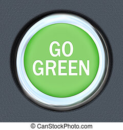 Go Green - Car Push Button Starter Envrionmentalism
