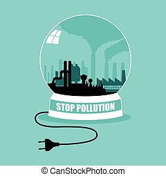 Go Green Concept Factory Unplug