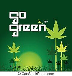 go green concept
