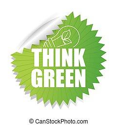 Go green ecology design