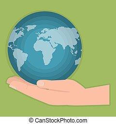 go green world planet