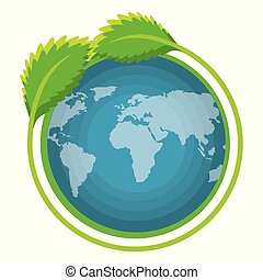 go green world planet